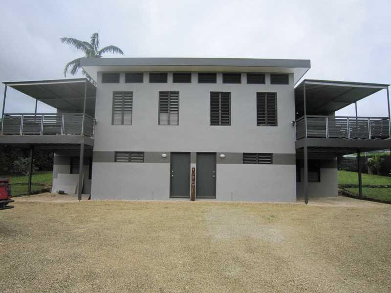 FRONT VIEW BOTH UNITS PRE PAM - TASSIRIKI HOLIDAY HOME - Port Vila - rentals