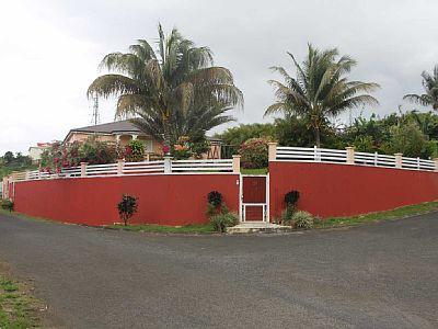 Vue de l'extérieur - VILLA DE STANDING - Sainte Rose - rentals