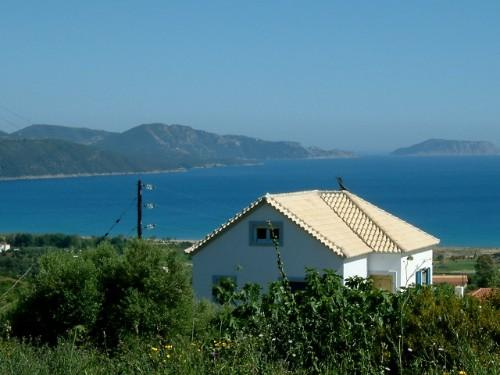 House with view - Cosy Studio: magnificent view on the Ionian sea - Finikounda - rentals