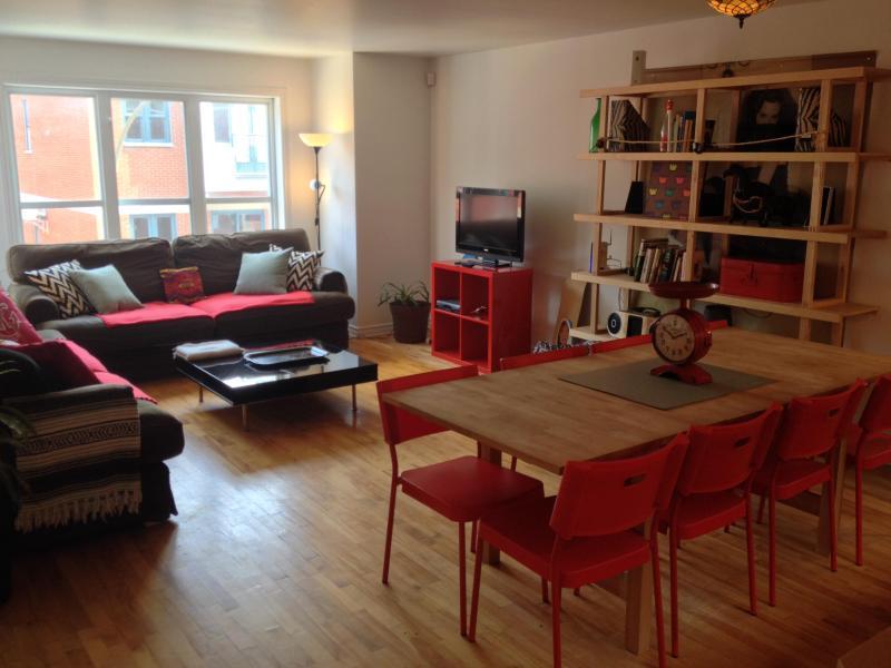 Large & Luminous Quartier Latin 3BR w/ AC & Parking - Image 1 - Montreal - rentals