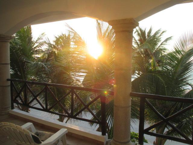 What a way to start the day! - Caribbean Beachfront Home 2 BR 2 BA - Majahual - rentals