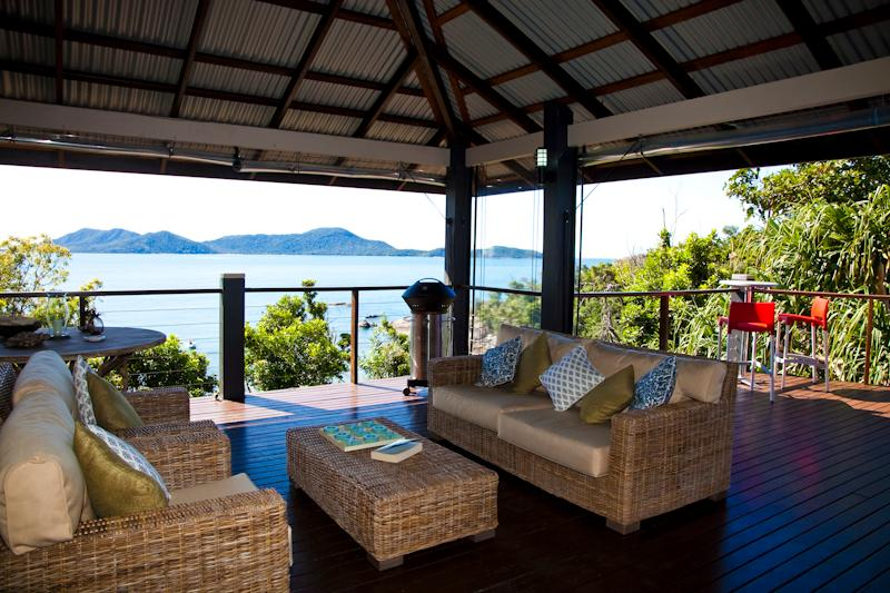 Bedarra Beach House - outdoor deck area - Bedarra Beach House - Bedarra Island - rentals