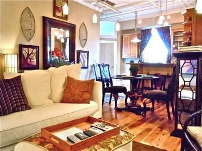 Open Living Space - Upscale 5 Star Downtown Asheville Loft 2BD/2BA - Asheville - rentals