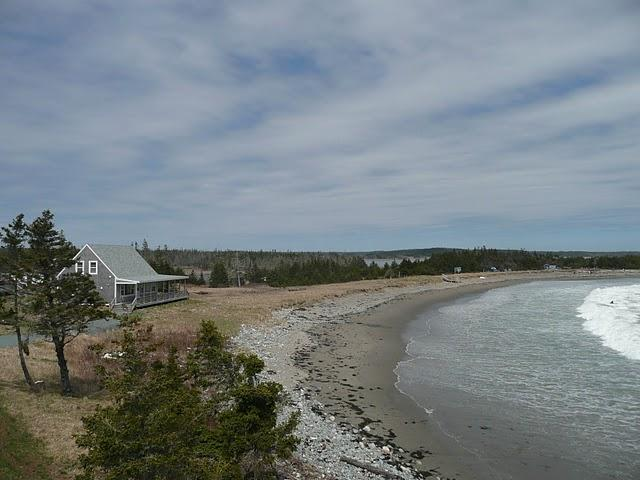 This is how close the beach is to the water! - Martinique Beach House ON THE BEACH! - Musquodoboit Harbour - rentals