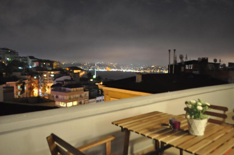 Flat w XL Terrace+Bosphorus View !! - Image 1 - Istanbul - rentals
