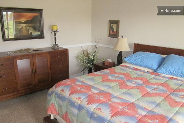 Master - San Francisco Peaks Wildernest - Master Bedroom - Flagstaff - rentals