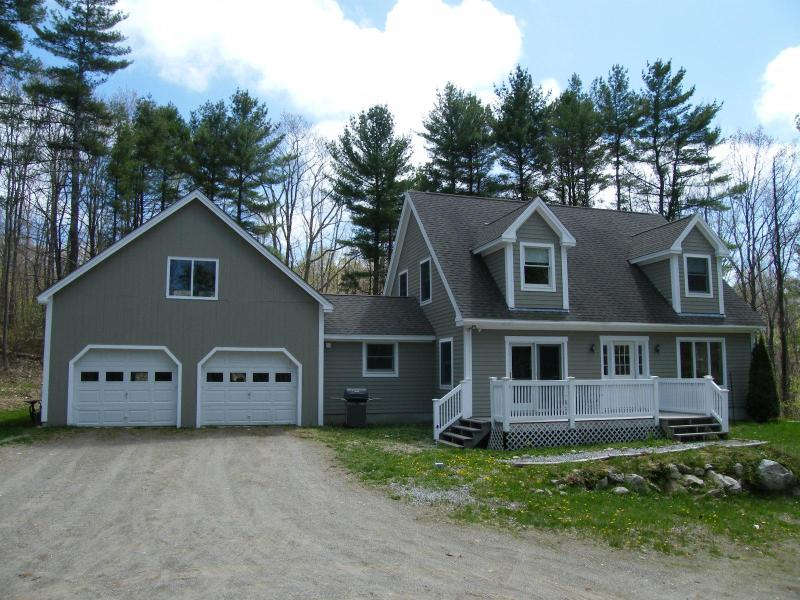 Front of Home - Riverside modern Cape with Kayak and Canoe - Damariscotta - rentals