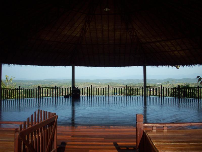 yoga sala overlooking hills - Thai health resort Townhouse- utilities included - Doi Saket - rentals