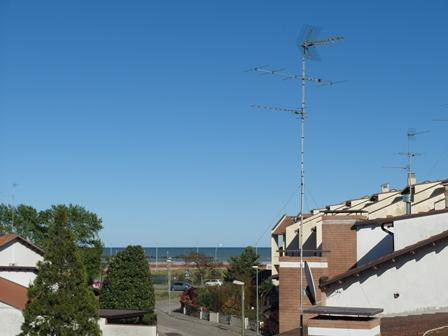 Sea view from the balcony of villa - Very Nice Vertical Villa At 100 Meters From The Se - Comacchio - rentals