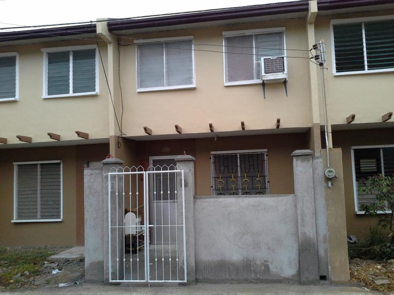 2 Storey Townhouse , 2 rooms,2 baths n Gated - P13k Furnished House for Rent in Deca 5 Homes Lapu - Patnongon - rentals