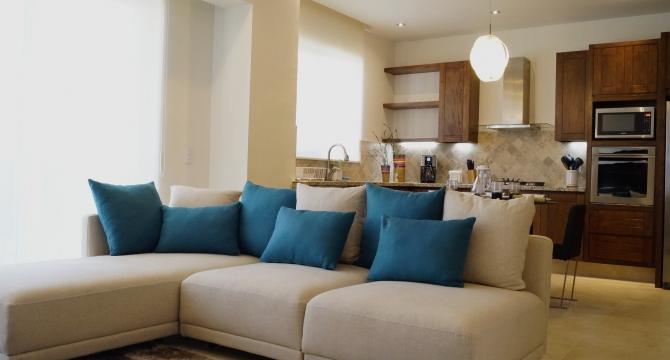 Living room - Best Value Luxury 1BDR Unit-Old Town Romantic Zone - Puerto Vallarta - rentals