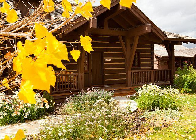 Exterior pictures of Silver Star Cabin - Silver Sage Cabin - Beautiful Cabin at Jackson Hole Golf & Tennis Club - Jackson - rentals
