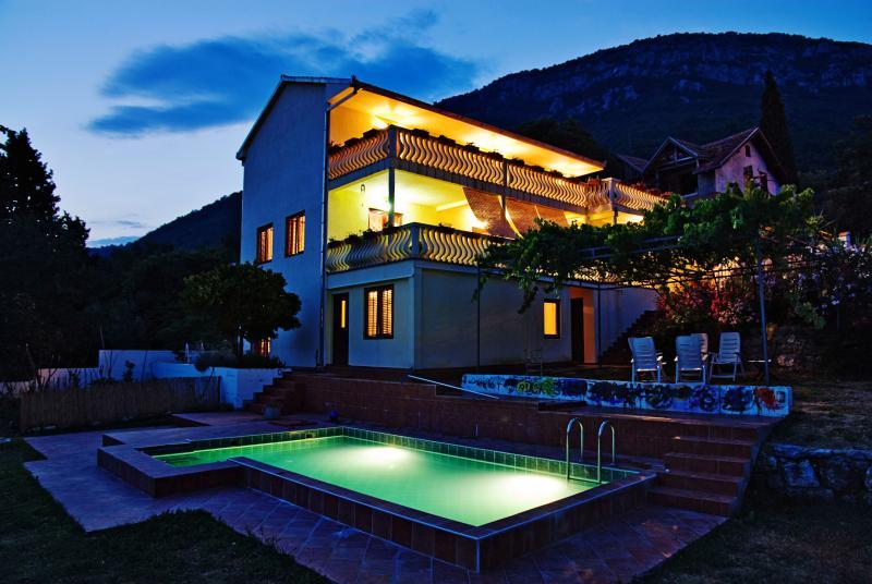 Villa Lemon et the evening - Villa Lemon Susanj Bar Montenegro - Bar - rentals