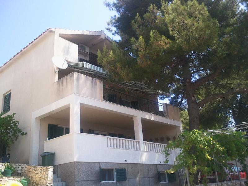 Apartment on Island Ciovo/Unesco town Trogir,big terrace/sea view,50m from sea - Image 1 - Okrug Gornji - rentals
