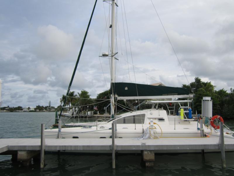 GeniGreen At the Dock Waiting Your Arrival - Florida Keys Sailboat FB - Marathon - rentals