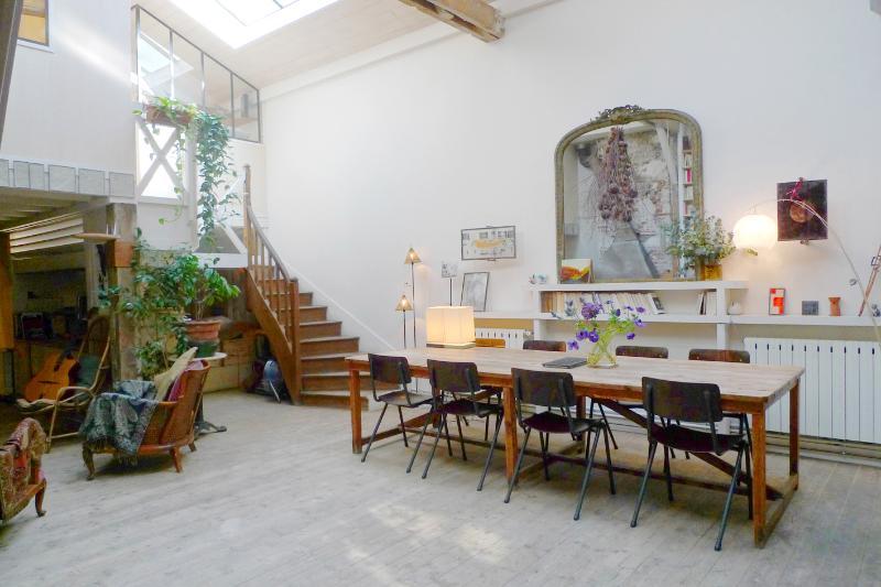 Living room - Little house in Paris, Loft, Canal Saint-Martin - Paris - rentals