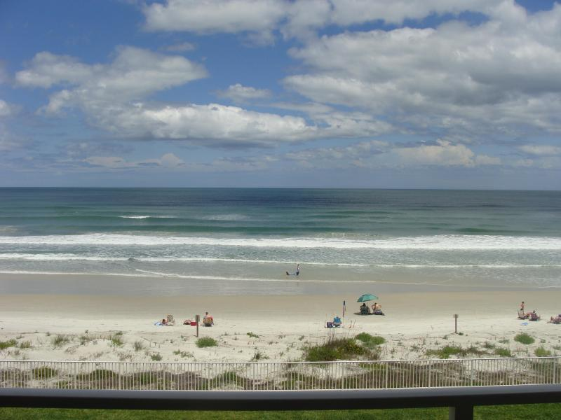 View from my balcony (3rd floor) - Property pulled from market - Daytona Beach - rentals