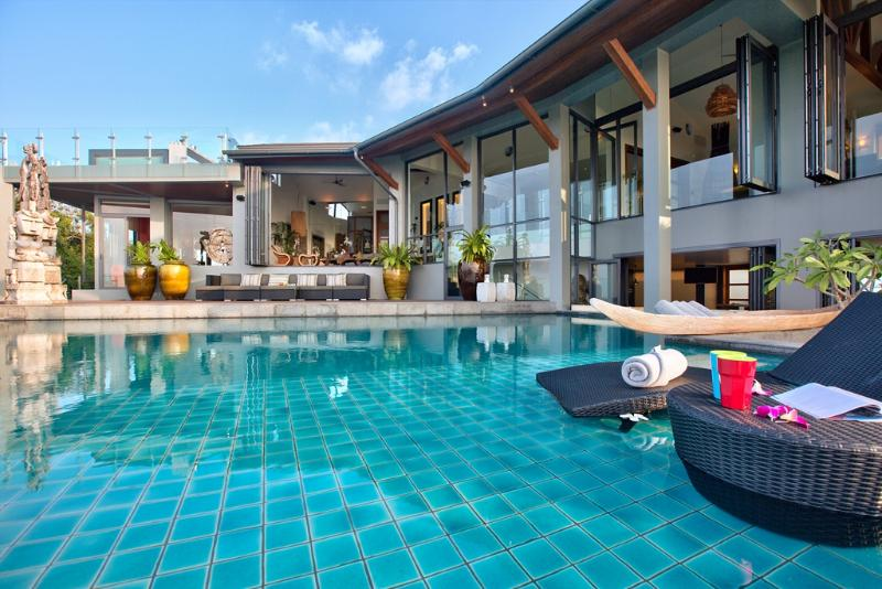 Stunning 8 Bed Villa with full resident 5 star staffing - Villa J: Arguably the best Sea-View Villa in Samui - Choeng Mon - rentals