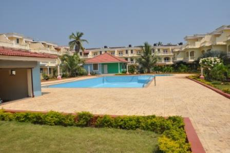 Outdoor pool - Vacation at Beachside Holiday Home Apartment in Benaulim South Goa India - Margao - rentals