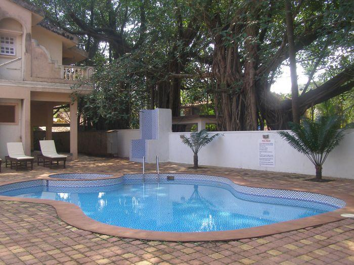 outside view - Studio-apartments in Candolim, Flower holiday home - Candolim - rentals