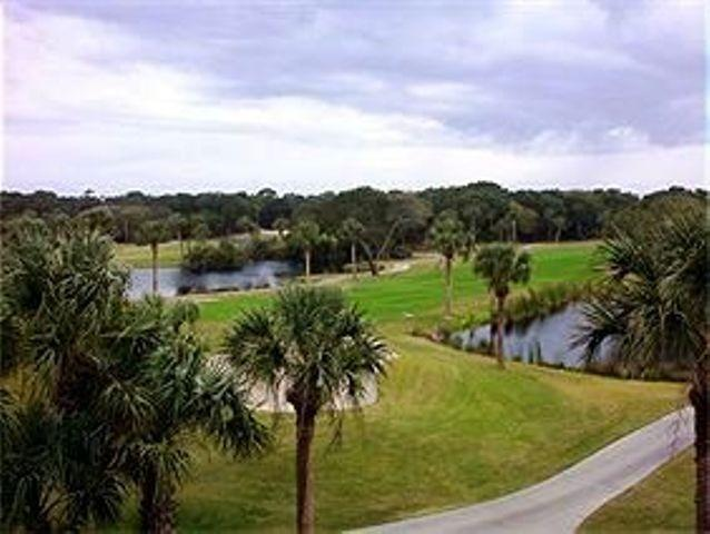 View of the course - Beach Vacation in Paradise!!!! - Seabrook Island - rentals