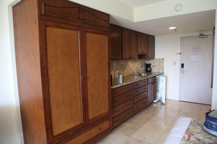 Custom Armoire, granite counters, marble floors - Luxury Studio Luana Waikiki from $118 WiFi/Beach - Honolulu - rentals