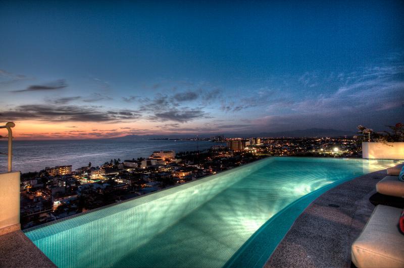 Breathtaking Contemporary 6 Bedroom Villa a short walk to the beach! - Image 1 - Puerto Vallarta - rentals