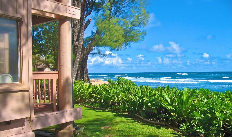 PARADISE AWAITS - BEACHFRONT PARADISE - 20 Feet From The Sand & Sea - Haena - rentals