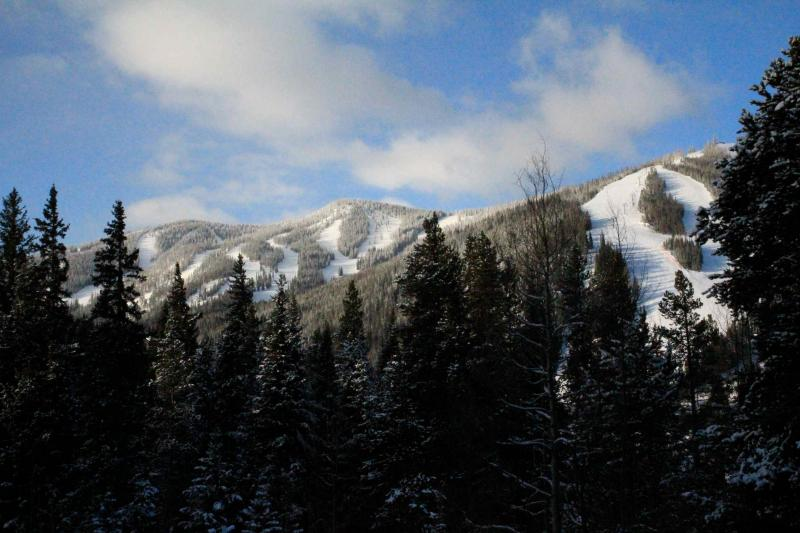 View from Living Room - WinterPark TownHome Across from Slopes! What View! - Winter Park - rentals