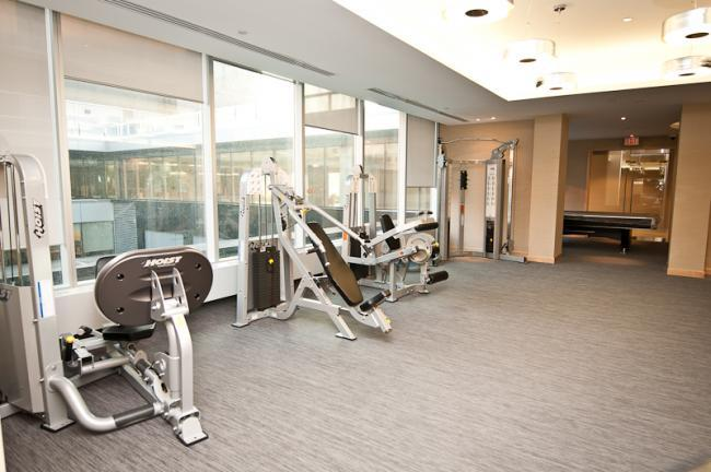Gym - Toronto Downtown Furnished Rentals - Maple Leaf Square - Toronto - rentals