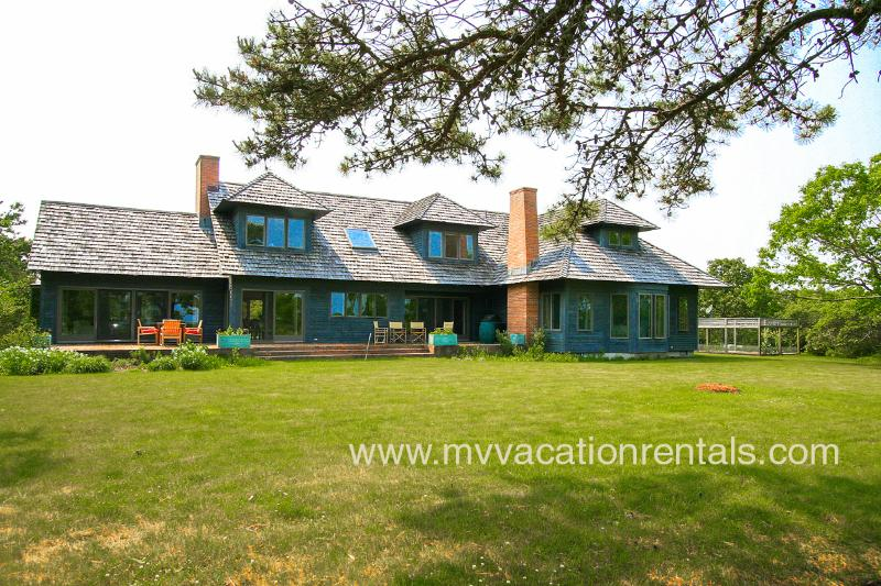 Exterior of House - MORIG - Great Pond Waterfront, Beach Access, Association Tennis - Edgartown - rentals