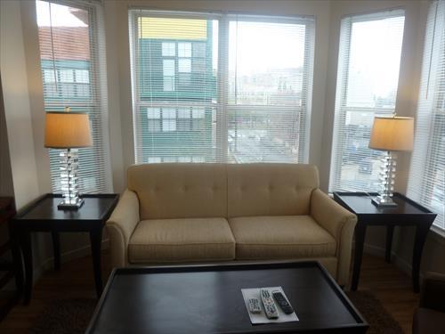 Living room - Lux Arlington 2BR 2 FULL BTH w/WiFi - Arlington - rentals