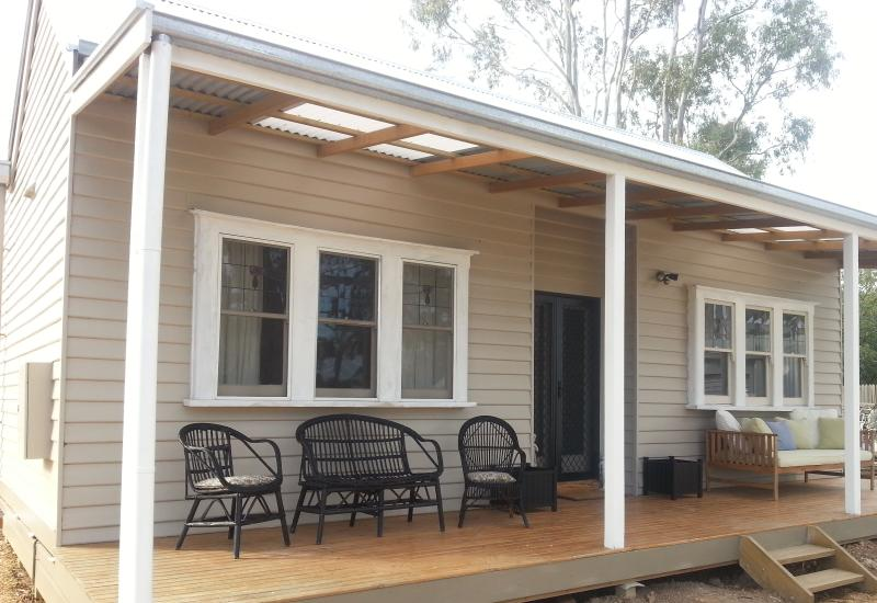 Front verandah - Short term home rental Maldon/Bendigo Australia - Maldon - rentals