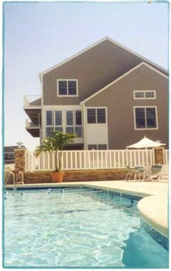 Poolside for vacation fun! - VACATION Heaven  Amazing Fenwick Island Townhome - Selbyville - rentals