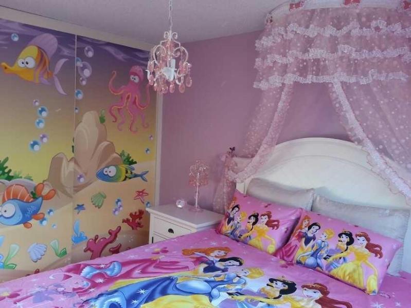 Romantic Dream Princess Room Sea World sliding door,queen bed, 55-inch LCD TV - Unique,Disney & Fairy Tale Theme,Luxury&Romantic - Anaheim - rentals