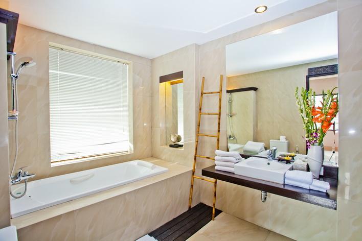 bathroom - 2 Bedroom Villa seminyak area , Bali - Denpasar - rentals