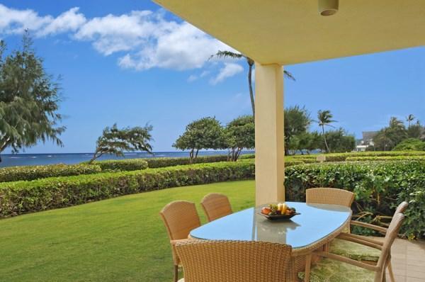 H101 Lanai Oceanfront Dining - Waipouli Beach Resort H101 - Kapaa - rentals