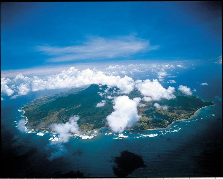 Nevis aerial view - Zetland Breeze on the island of Nevis - Gingerland - rentals