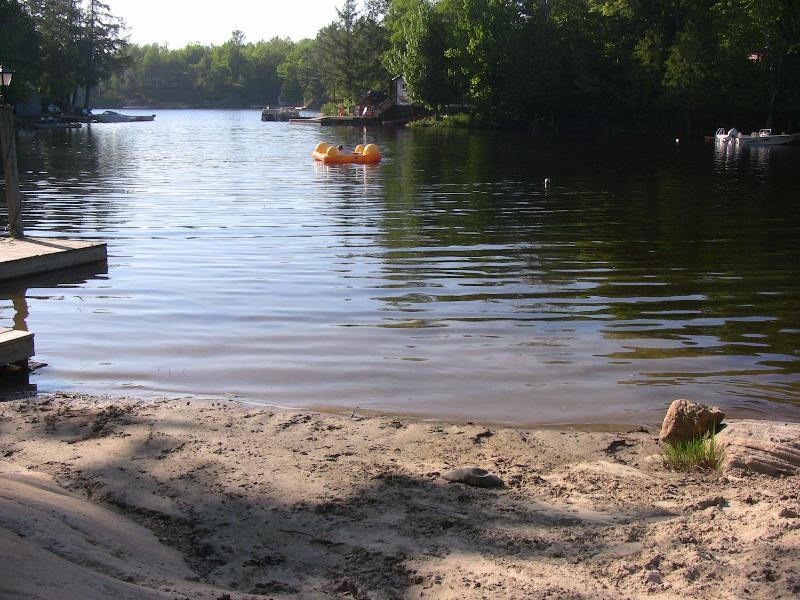 Sandy Beach - Cabin on Manitou:  Manitouwabing Lake - McKellar - rentals