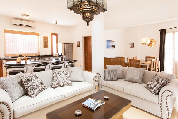 Living Room - Red Rock Luxury Apartments, Dahab - Mountain View - Dahab - rentals