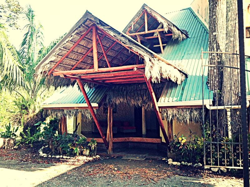 Palapa Hut - Chosa Royale, tropical resort on the OSA peninsula - Puerto Jimenez - rentals