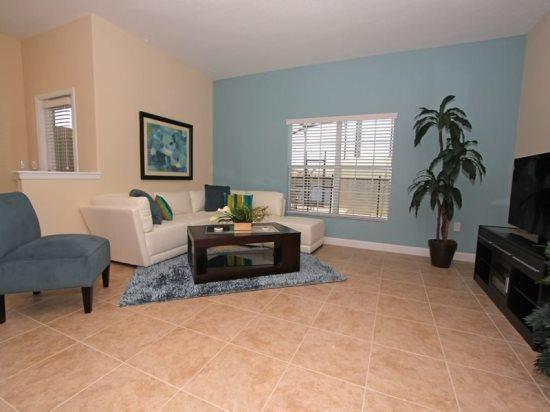 5 Bedroom 4 Bath Pool Home Sleeps 12 In Style. 8925CPR - Image 1 - Orlando - rentals