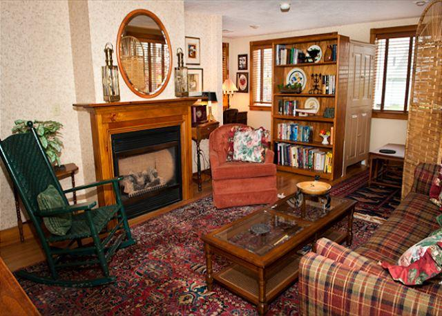 "Living Room - ""Millard's Nook"" - 1BR/1BA Cozy Historic Hideaway Near Finger Lakes - Moravia - rentals"