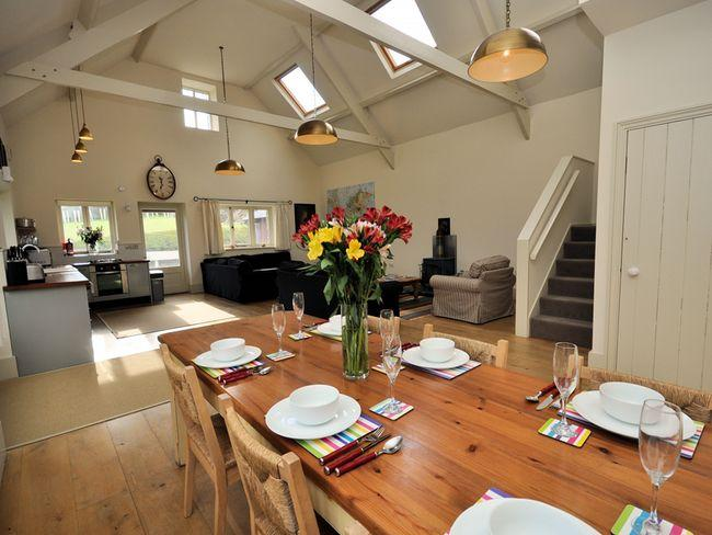 Lounge/dining area - WORKT - Boscastle - rentals