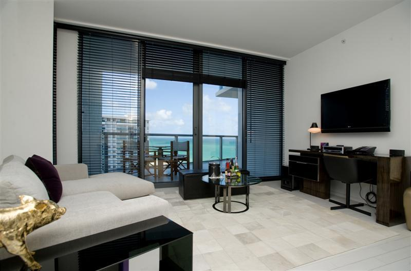 2 BD Ocean View Residence at W Hotel South Beach - Image 1 - Miami Beach - rentals