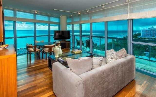 Setai Hotel Full Ocean Front Condo 19th Floor - Image 1 - Miami Beach - rentals