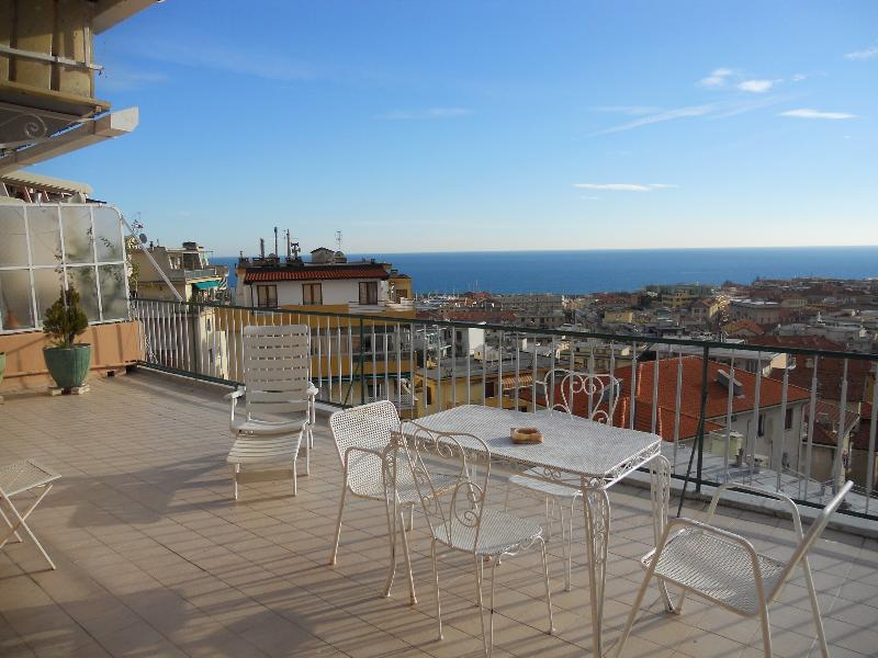 Day view from terrace - SANREMO - ITALIAN RIVIERA  OF FLOWERS - San Remo - rentals