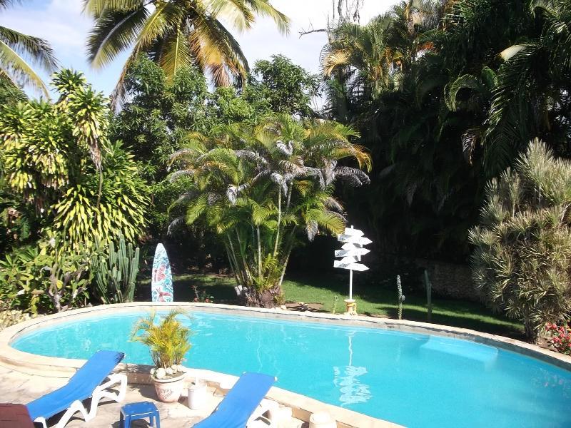 backyard - Casa Mango - Cabarete - rentals