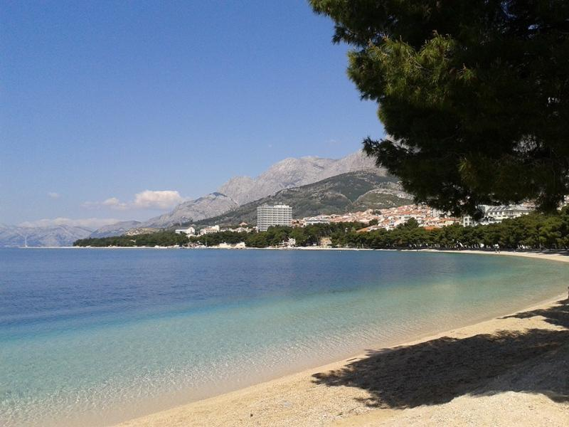 Apartment SEAGULL right on the beach! - Image 1 - Makarska - rentals