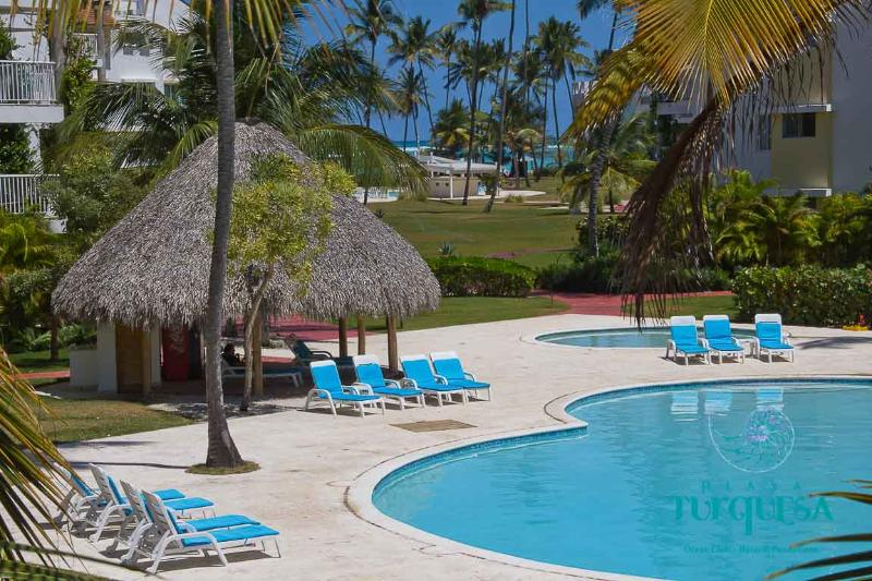 First Pool - PLAYA TURQUESA 2 br in ocean front complex - Bavaro - rentals